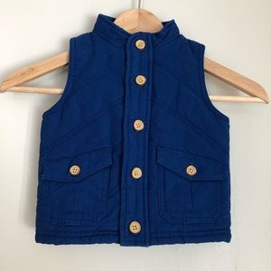 NEW Oshkosh Quilted Vest size 12 months